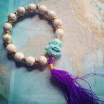 blue buddha mala